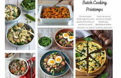 Batch cooking printemps
