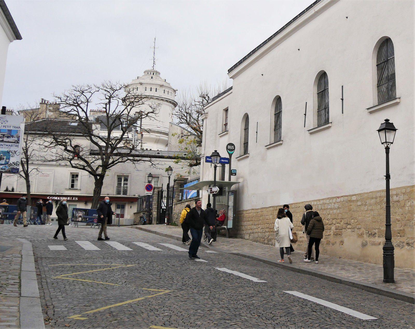 Rue saint-Eleuthère. Montmartre.