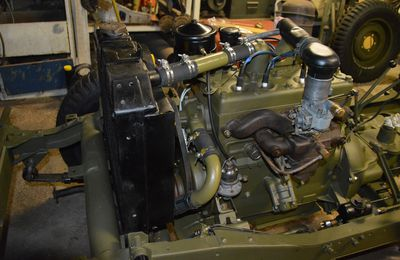 Restauration JEEP WILLYS -