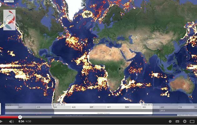 VIDEO - avec Global Fishing Watch, Google s'attaque à la pêche illégale