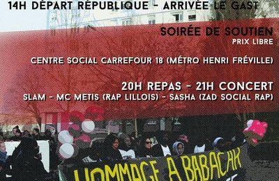 LA PSYCHOPHOBIE TUE! Marche commémorative #2 pour Babacar Gueye