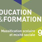 Massification scolaire et mixité sociale