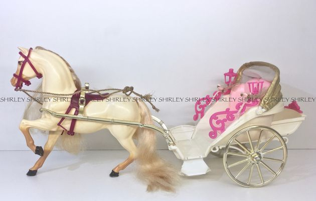 RAPUNZEL CARRIAGE 1998