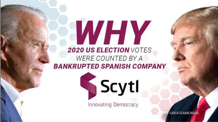 #USA : Pourquoi les votes des élections américaines de 2020 ont été comptés par la société espagnole en faillite Scytl