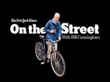 Bill Cunningham est parti loin, sur la route
