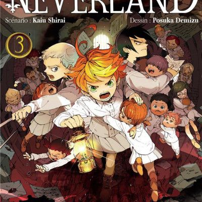 The promised neverland, 3