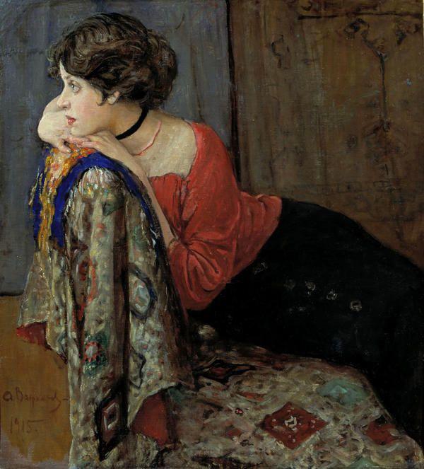 Alexander Vakhrameev - Portrait de Tatiana Trofimova