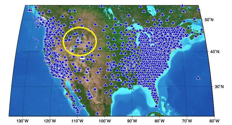 Yellowstone les sismographes
