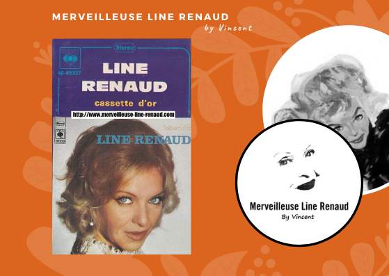 CASSETTES AUDIO: 1972 CBS Cassette - 40 65337 - Line Renaud cassette d'or