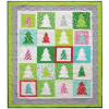 Festive Forest Quilt by Patty Sloniger / 41x56