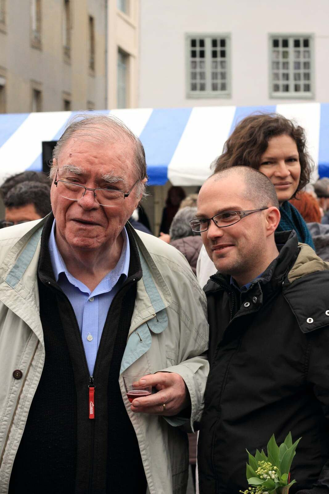 Alain David et Pierre Moal - Photo Rodolphe Thirard (fête du Viaduc du PCF)
