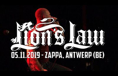 LION'S LAW @ Zappa, Antwerp (05.11.2019) - MULTICAM - FULL SET