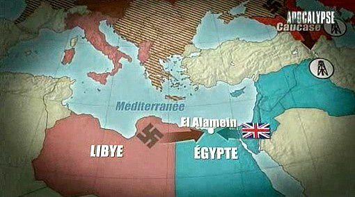 1er juillet - 4 novembre 1942: El Alamein, tournant décisif de la Seconde Guerre mondiale