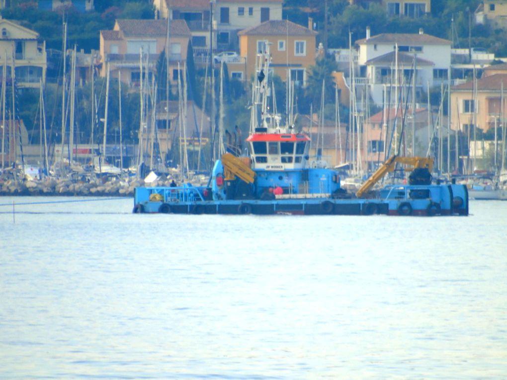 JIF  WORKER , arrivant à la Seyne sur Mer le 05 aout 2018