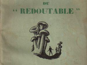 """J.-H. Rosny Jeune """"L'Enigme du « Redoutable »"""" (Crès - 1930) [Service de presse]"""