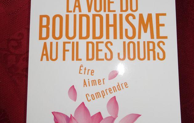 La voie du bouddhisme au fil des jours de Olivier Raurich