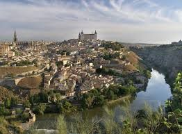 The region of La Mancha in the Iberian Peninsula