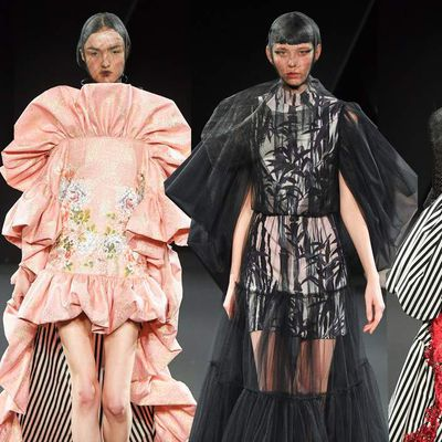 YUMI KATSURA SPRING 2019 COUTURE COLLECTION  PFW