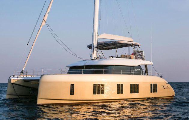 Scoop Multicoques - toutes premières photos du nouveau catamaran Sunreef 50