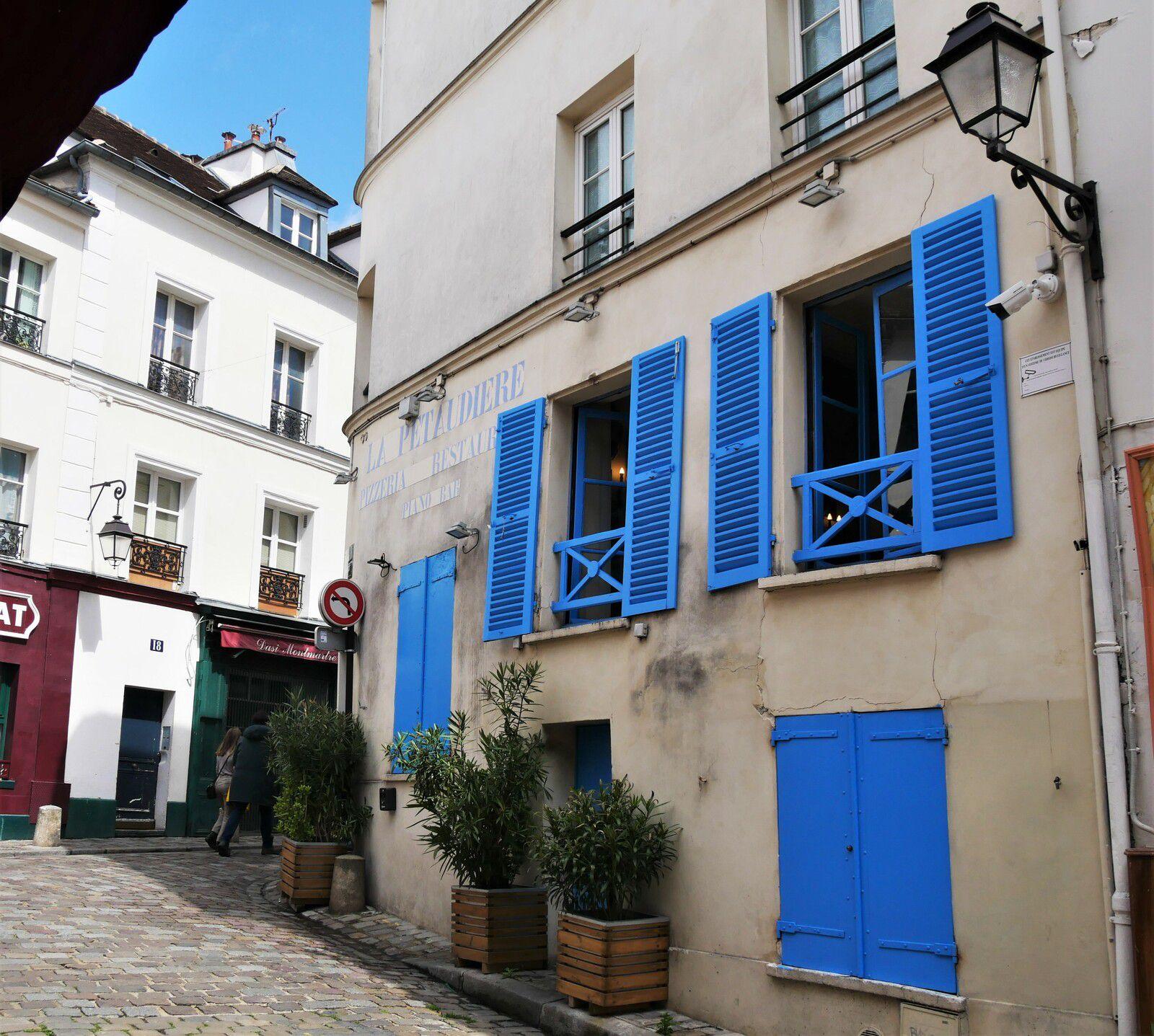 Album photos de Montmartre en mai 2021