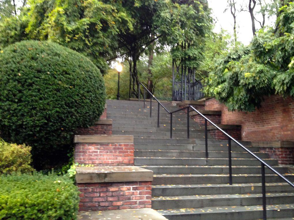 Conservatory Garden en automne - 34 photos