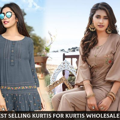 Top of the Line 5 Kurtis For Kurti Wholesalers To Buy
