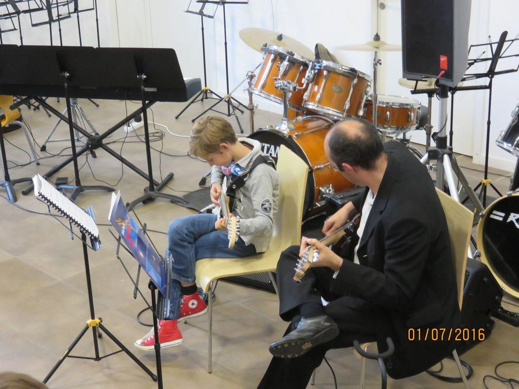 Audition de l'Ecole de Musique Municipale de Berck sur Mer