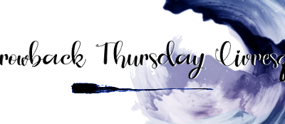 Throwback Thursday Livresque (n°99)