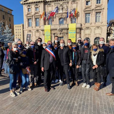 Val d'Allos, Les acteurs économiques étaient à Marseille