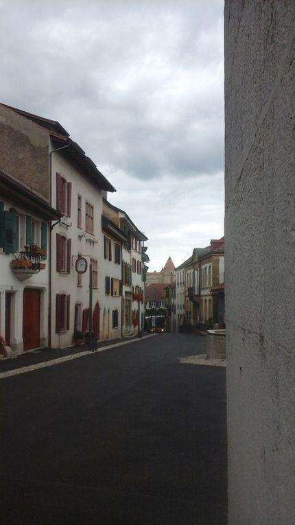 Dernières étapes suisses.