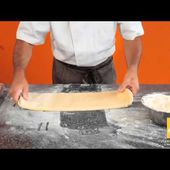 Technique de tourage d'une pâte feuilletée