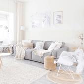 Salon scandinave : Top 10 Instagram - Décoration créative
