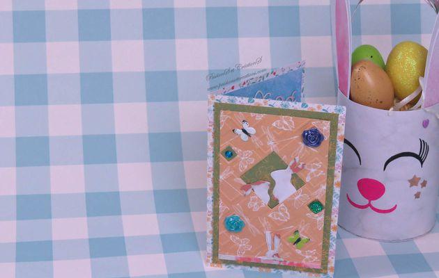 Réaliser : Une Carte Faite Main pour Pâques...