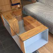 Tutoriel DIY Table basse à partir de caisses à vin