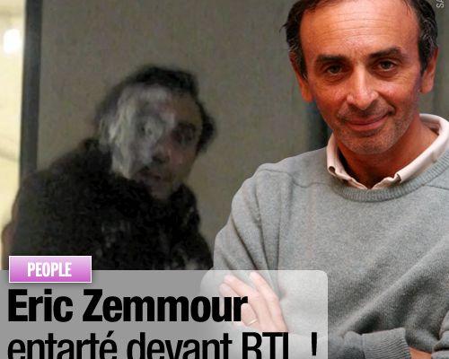 Eric Zemmour entarté devant RTL !