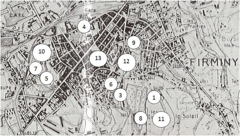 Firminy dans les Trente Glorieuses - Histoire d'une mutation urbaine