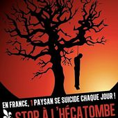 400 agriculteurs français se suicident chaque année. Merci Monsanto ! - MOINS de BIENS PLUS de LIENS