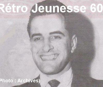 normand Fréchette, un animateur de radio et de télévision canadien doublé d'un chanteur dans cette période yé-yé