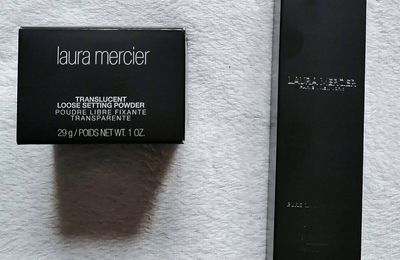 Laura Mercier, Translucent Loose Setting Powder et Pure Canvas Primer Hydrating