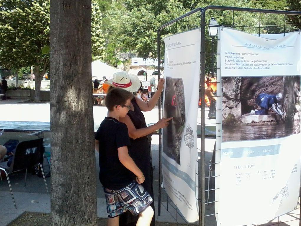 Participation de Rives & Cultures aux Fêtes de l'Huveaune à Roquevaire, 15 Juin 2014