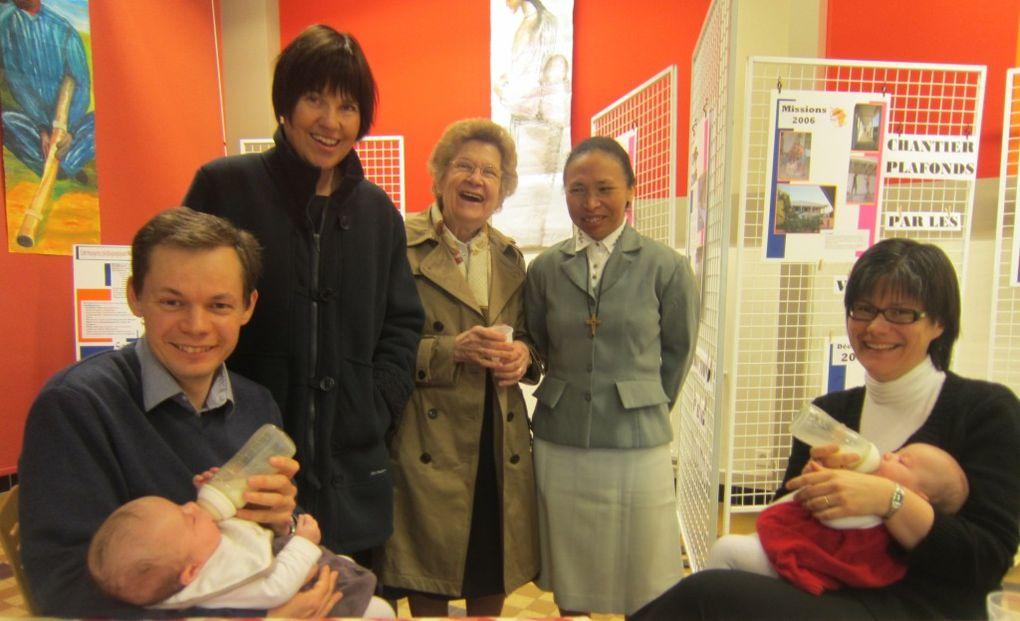 Une journée formidable de retrouvailles avec les volontaires des missions 2004 ! comme on a changé ! Et surtout, comme il est bon de voir les petits enfants grandir !!!! de futurs mad'actifs ?????