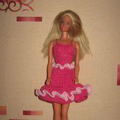 Tutoriel - Barbie Rosaline - Passionnement Créative