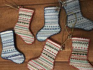 les chaussettes sont pretes pour Noel