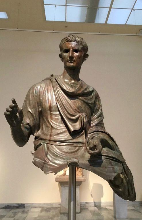 Statue of the emperor Augustus (29 BC-AD 14), Bronze