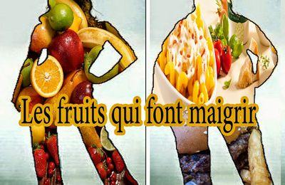 Les fruits font maigrir