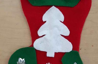 Porte Ustensile Bas de Noël