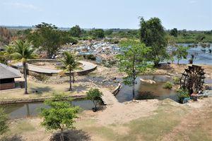 """Laos du sud (7) ... Si Phan Don (""""4 000 Îles"""") : en tuk-tuk sur l'île de Don Khone"""