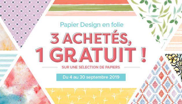 Papier Design en folie !