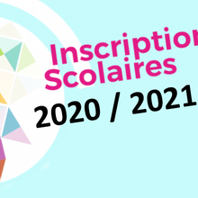 INSCRIPTION ECOLE PAUL BERT RENTRÉE 2020/2021