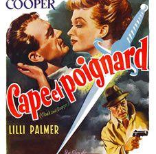 Cape et Poignard de Fritz Lang